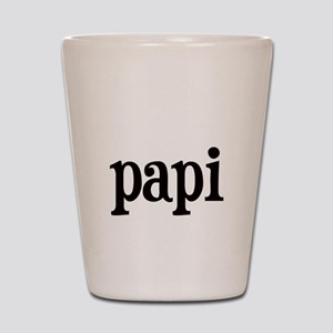 papi Shot Glass