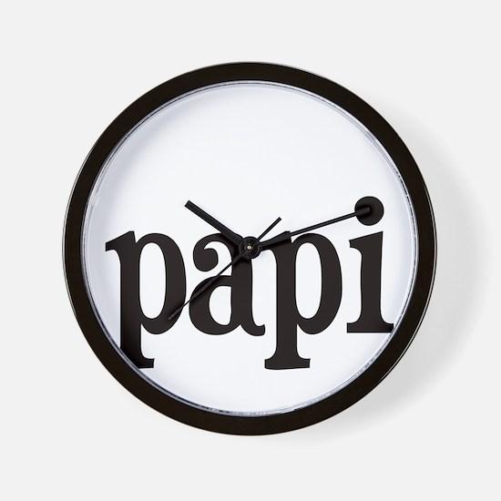 papi.png Wall Clock