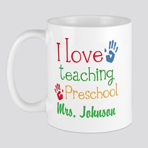 I Love Teaching Preschool Mugs
