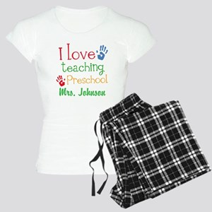 I Love Teaching Preschool Pajamas