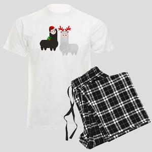 christmas reindeer alpacas Pajamas
