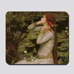 Ophelia by JW Waterhouse Mousepad