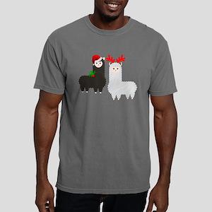 christmas reindeer alpacas T-Shirt