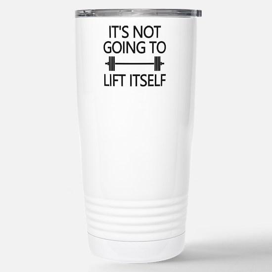 Lift Itself Stainless Steel Travel Mug