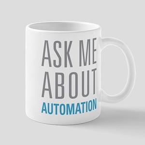 Ask Me Automation Mugs