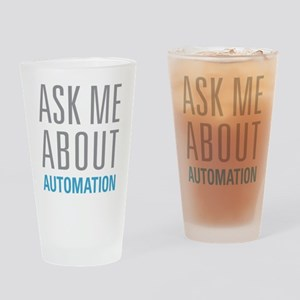 Ask Me Automation Drinking Glass