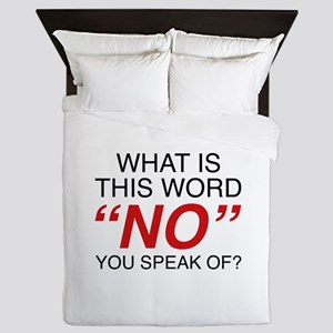 What Is This Word No Queen Duvet