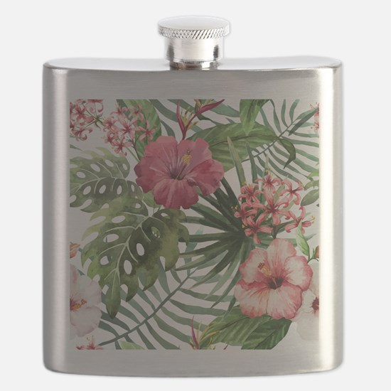 Cute Tropical Flask