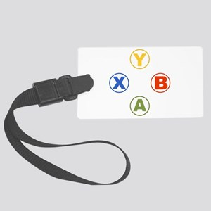 Xbox Buttons Large Luggage Tag