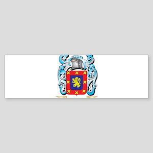 Benito Coat of Arms - Family Crest Bumper Sticker