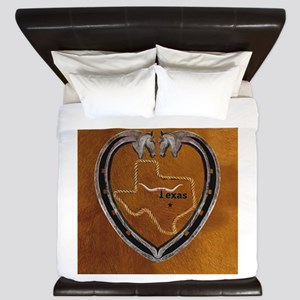 Texas Pride King Duvet