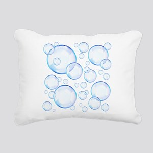 Bubbles Rectangular Canvas Pillow