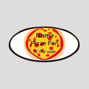 Funny Pizza Fan Patch