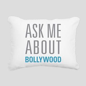 Ask Me Bollywood Rectangular Canvas Pillow