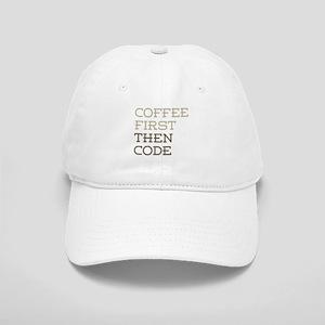 Coffee Then Code Cap