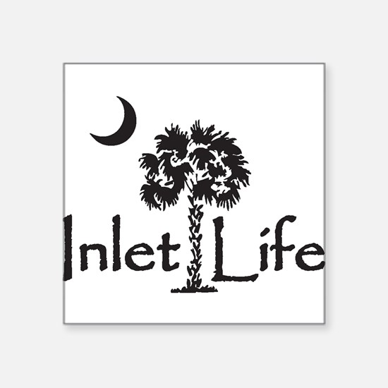 "Cute Life Square Sticker 3"" x 3"""