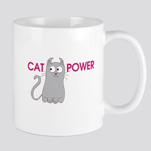 Cat Power Mugs