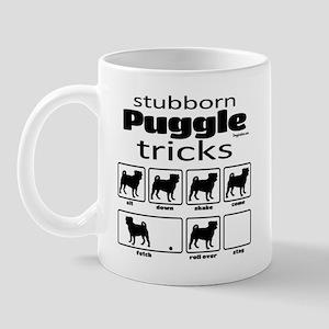 Stubborn Puggle v2 Mug