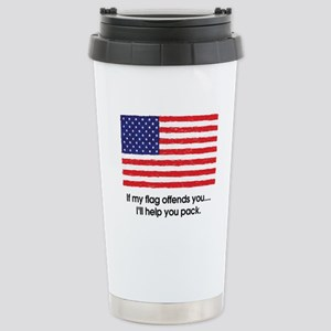 Flag Offends Travel Mug