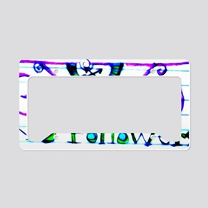 No Followers License Plate Holder