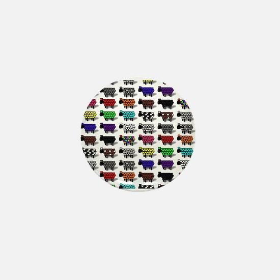 Logo Flock Mini Button
