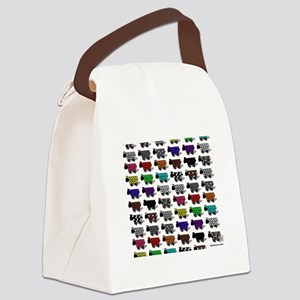 Logo Flock Canvas Lunch Bag