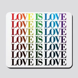 Queer as Folk: Love is Love Mousepad
