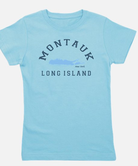 Montauk - Long Island. Girl's Tee
