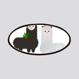 christmas reindeer alpacas Patch