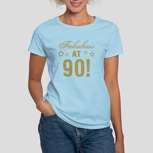Fabulous 90th Birthday Women's Light T-Shirt