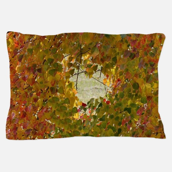 leaves changing Pillow Case
