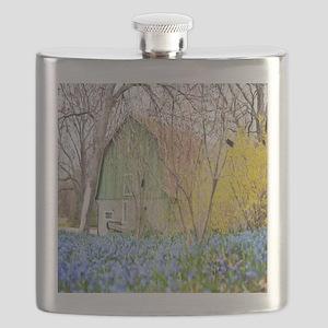 Country Barn Flask