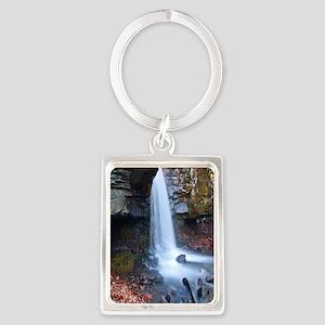 Waterfall Creek Portrait Keychain