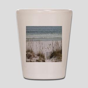 Sandy Beach Shot Glass