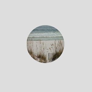 Sandy Beach Mini Button