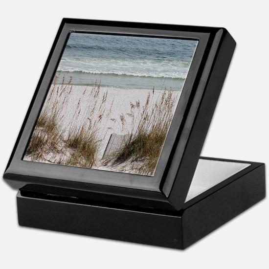 Sandy Beach Keepsake Box