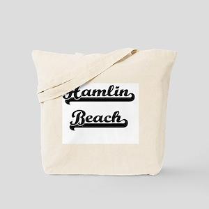 Hamlin Beach Classic Retro Design Tote Bag