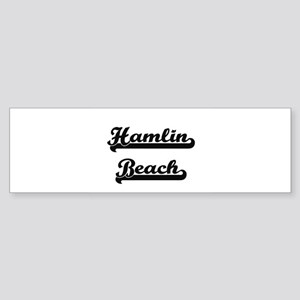 Hamlin Beach Classic Retro Design Bumper Sticker