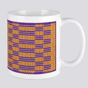 Colorful Kente Pattern Mugs