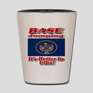 BASE Jumping It's Better In Utah Shot Glass