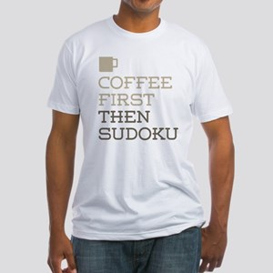 Coffee Then Sudoku T-Shirt