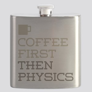 Coffee Then Physics Flask