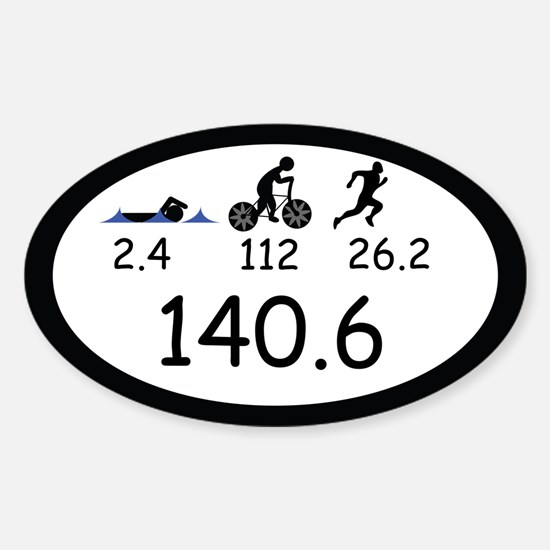 Ironman Triathlon Decal