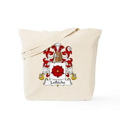 Lafleche Family Crest Tote Bag