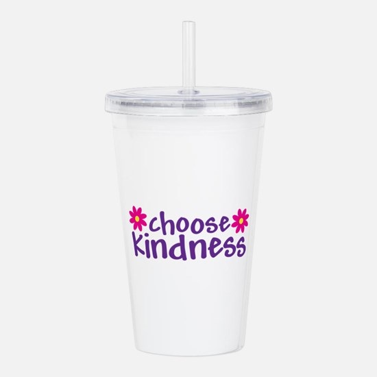 Choose Kindness - Acrylic Double-Wall Tumbler