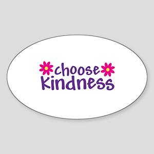Choose Kindness - Oval Sticker