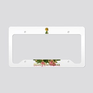 My gorgeous Christmas tree License Plate Holder