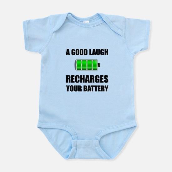 Laugh Recharges Battery Body Suit