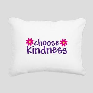 Choose Kindness - Rectangular Canvas Pillow
