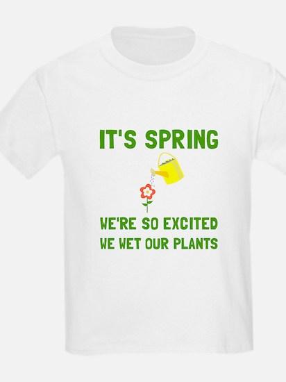 Spring Wet Plants T-Shirt